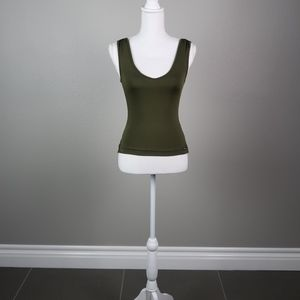 Olive Green Vintage Guess Top